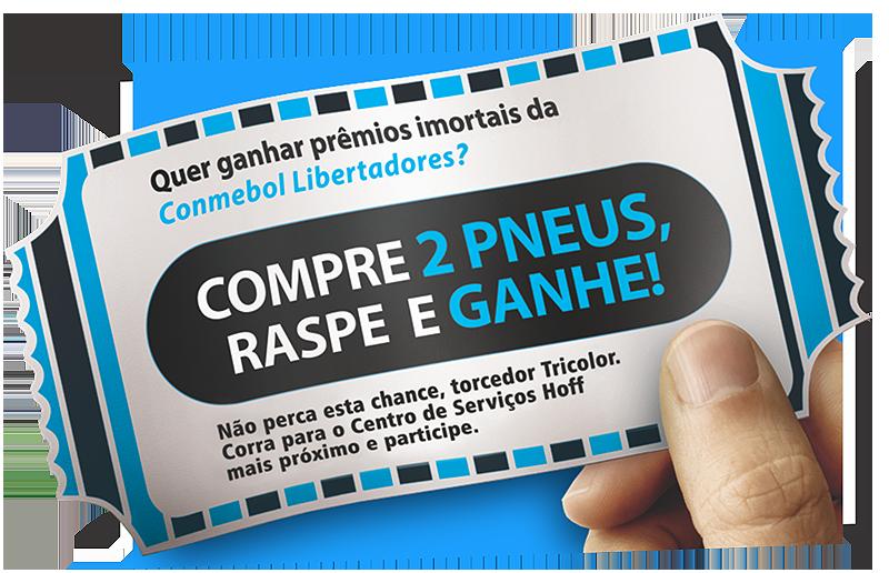 Promoção Compre Ganhe Bridgestone Libertadores
